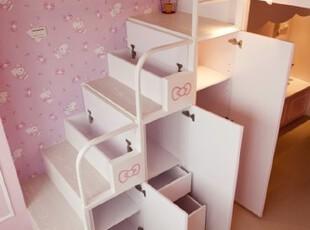 白色收纳楼梯