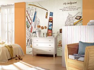 创意儿童房壁纸