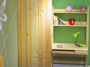 印花儿童房衣柜