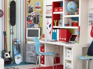 小大人的简洁书房