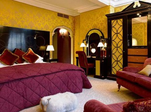 婚房-紫色卧室