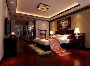 现代中式婚房