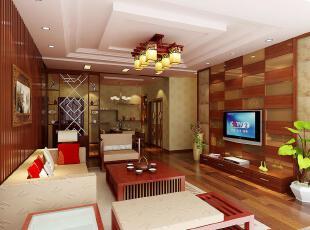 新婚房 中式客厅