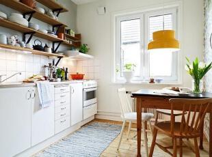 清新收纳设计 40平简约北欧公寓