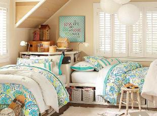 非童莫属的阁楼卧室