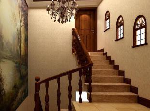 婉约典雅的仿古楼梯