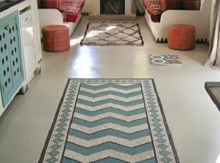 永不褪色的Kilim地毯