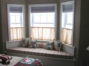 飘窗 卧室的休闲区