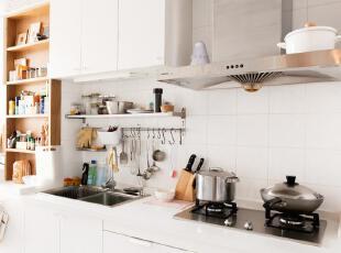 厨房,看得出收纳很多吗?,60平,3万,小户型,欧式,简约,宜家,厨房,白色,