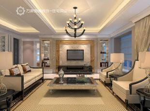 ,客厅,简约,欧式,灯具,地毯,米黄色,