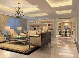 ,欧式,客厅,简约,现代,灯具,地毯,米黄色,