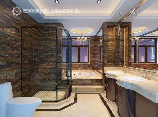,浴室,卫生间,大理石,黑白,现代,奢华,