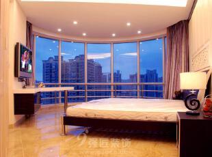 ,240平,25万,现代,大户型,卧室,