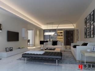 客厅,客厅,180平,5万,现代,三居,