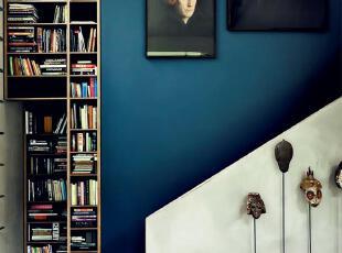 转角遇到书柜 楼梯也魅惑