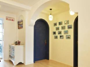 纯美自然190平地中海(蓝白)浪漫小屋