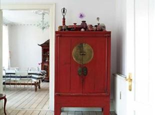 古韵收纳柜与现代元素对话