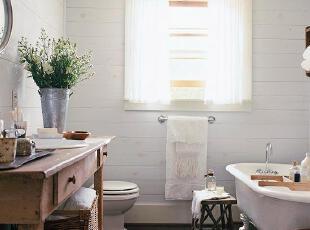 田园浴室 爱自己的活法