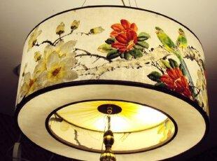中式灯饰为佳节营造气氛
