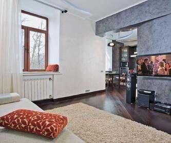 33平米小公寓 超酷流线...