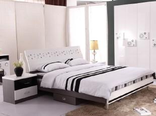 黑白酷雅卧室