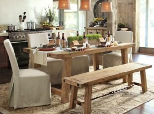 麻布与原木餐厅 温暖简约