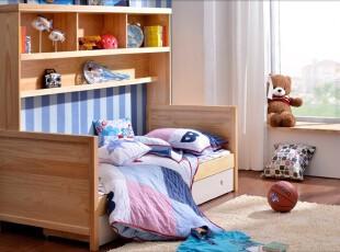 舒服的实木卧室床品