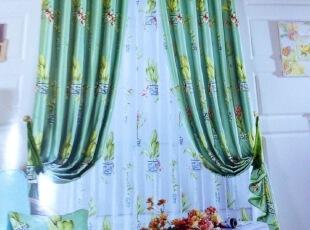 绿色青花瓷客厅 书房