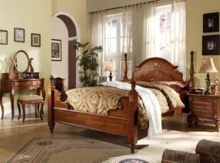 优柔线条构成的欧式风卧室