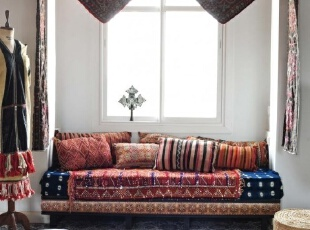 花纹地毯如何装扮温馨...
