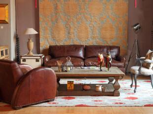 温润而雅的欧式复古客厅