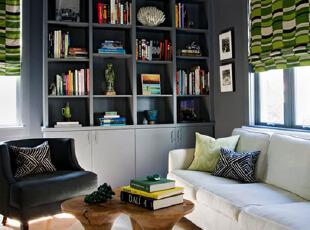 我爱的是收纳整洁的简约客厅