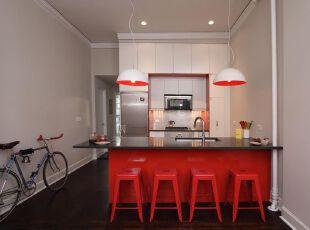 当餐厅遇上热情如火的红色