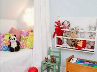 儿童房巧用颜色跟小孩沟通