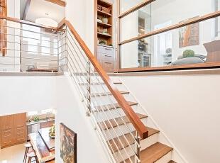 禅意日式室内楼梯设计图