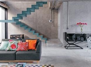 工业风格室内楼梯设计