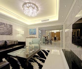 """""""钻石光芒""""现代公寓"""
