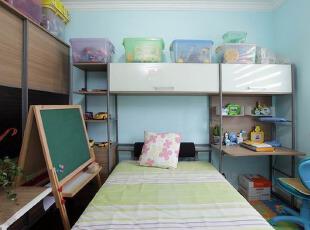叠加空间设计的儿童房
