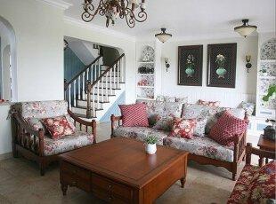 温馨客厅沙发区 茶余饭后齐分享