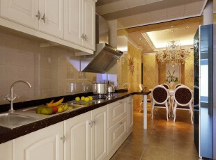 黄色,墙面,欧式,厨房,收纳