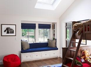 地中海风格儿童房卧室