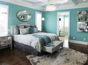 地中海风格卧室设计效...