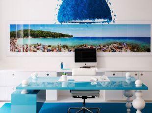 个性海洋风灯饰装饰客厅