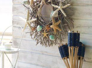 DIY饰品打扮地中海风客厅