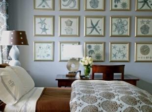 地中海风格相片墙的装饰