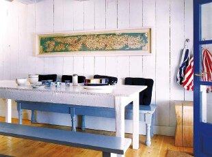 卧室改造成餐厅 回味甲板时光