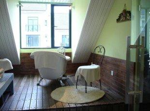 欧式情调浴室 好休闲!