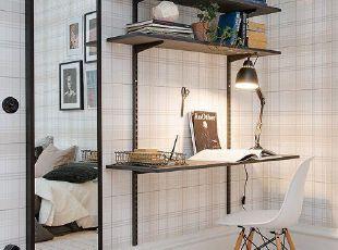简约随性的soho创意家居工作空间