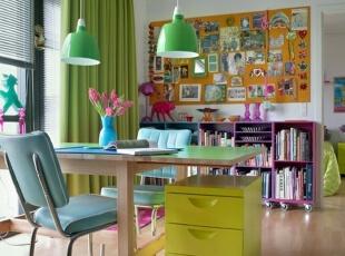 色彩缤纷的soho一族创意家居空间