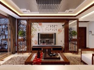 美得让人窒息的新中式古典风格样板房装修效果图图片